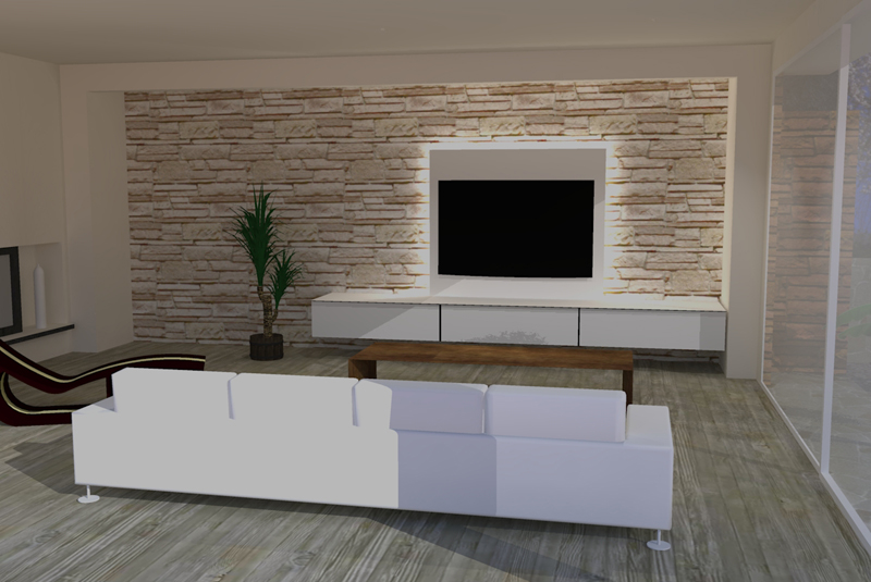 Wand Tv Kast : Tv wand meubel rimadesio abacus living home design modulaire luxe